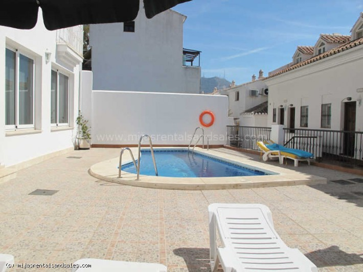 Central duplex apartment in Mijas Pueblo