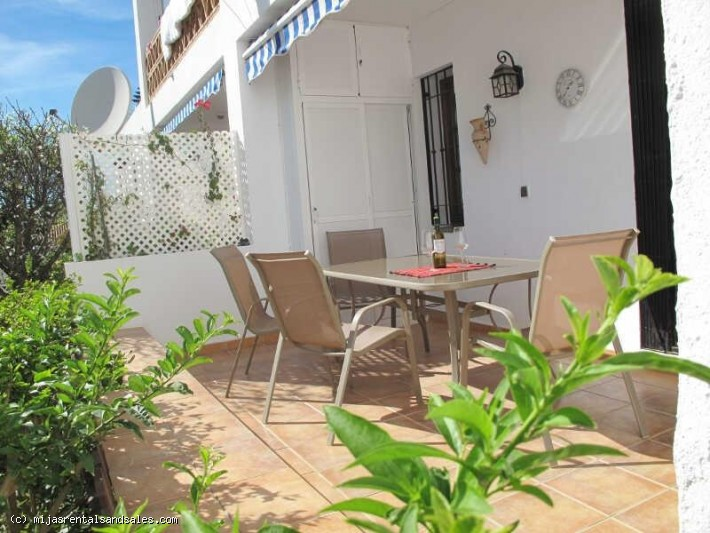 Apartment with terrace in Mijas Golf