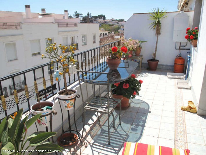 Large central apartment in Mijas Pueblo