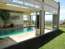 Villa with sub-tropical gardens and stunning sea views in Mijas
