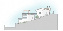 Plot with building project close to Mijas